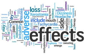 Side Effect word cloud