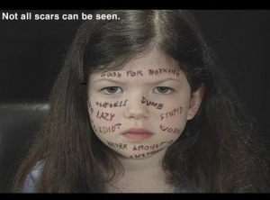 """""""Hidden Scars"""" A video short on verbal abuse. It can be viewed at YouTube."""