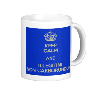 Via http://www.keepcalm-o-matic.co.uk/p/keep-calm-and-illegitimi-non-carborundum-12/