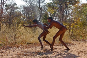 Namibian hunters
