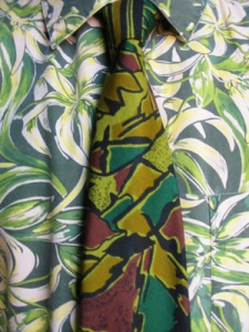 Francis Heaney documented his daily shirt/tie selection for years. See more at: http://www.yarnivore.com/francis/