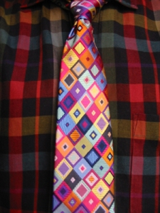 Colorblind? Francis Heaney documented his daily shirt/tie selection for years. See more at: http://www.yarnivore.com/francis/